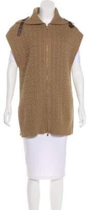 Loro Piana Cashmere Cable Knit Vest