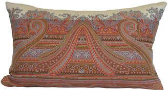 One Kings Lane Vintage Antique Paisley Pillow