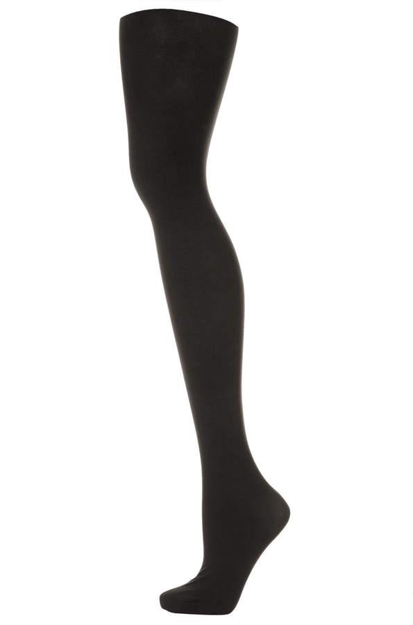 Topshop Half sheer half opaque tights