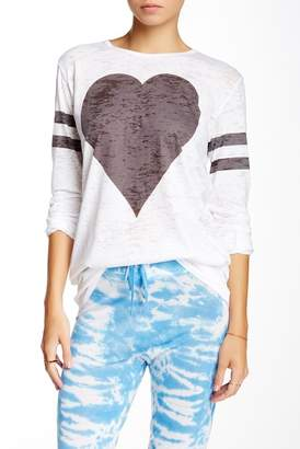 Couture Go Long Sleeve Burnout Tee