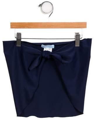Blumarine Girls' Ruffled Sash-Tie Cover-Up