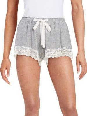 Flora Nikrooz Lace Trim Shorts
