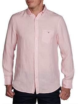 Gant The Linen Shirt Reg Bd