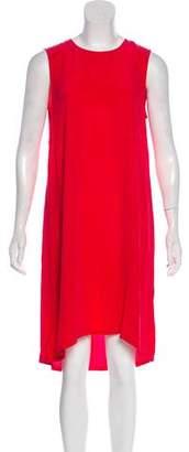 Equipment Silk Knee-Length Dress