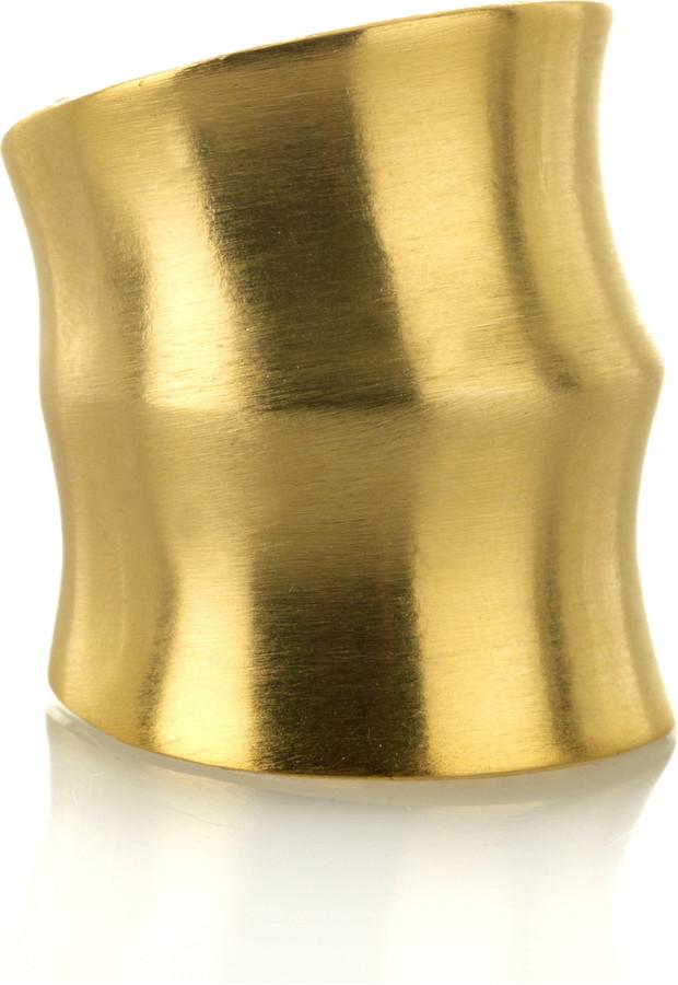 Dannijo Jacinda gold-plated ring