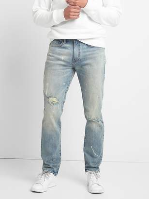 Gap Cone Denim® Destructed Jeans in Slim Fit with GapFlex