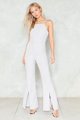 Nasty Gal Split Second Jumpsuit