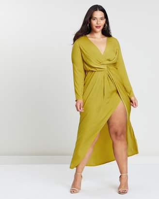 Wrap Knot Front Dress