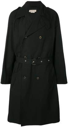 Marni double breasted trench coat