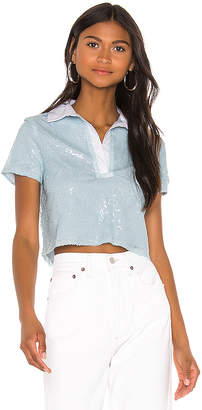 superdown Sun Cropped Polo Shirt