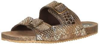 Cream Multicolored Sandals