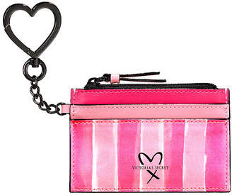 Victoria's Secret Victorias Secret Signature Stripe Card Case