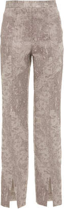 Yeon M'O Exclusive Manon Jacquard Straight-Leg Pants