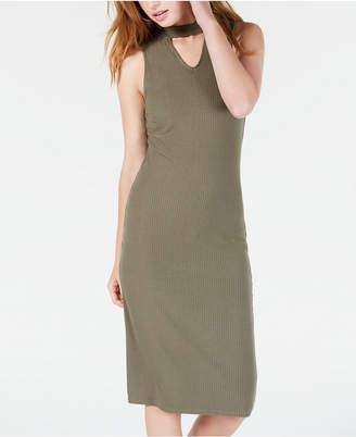 Material Girl Juniors' Mock-Neck Bodycon Dress