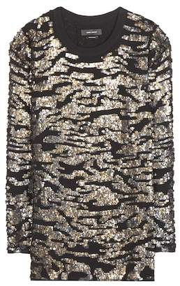 Isabel Marant Fedilon sequin top