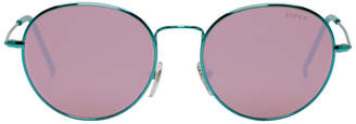 Super Green Wire Sunglasses