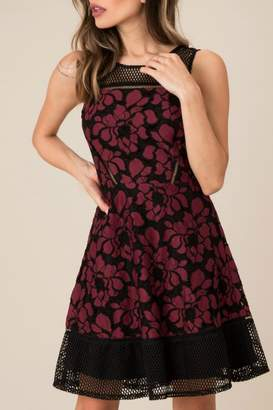 Black Swan Candice Mesh Dress