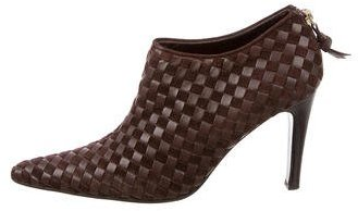 Bottega Veneta Bottega Veneta Intrecciato Leather Booties