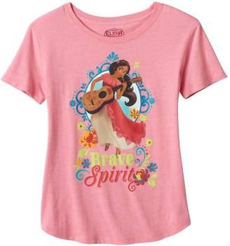 "Disney Disney's Elena of Avalor Girls Plus Size ""Brave Spirit"" Graphic Tee"