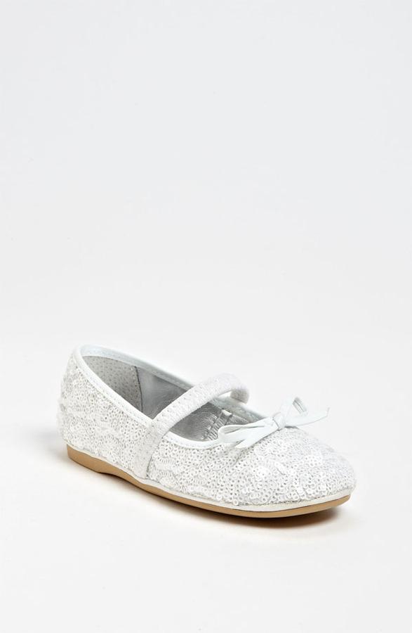 Nina 'Fanti3' Sequin Flat (Walker & Toddler)