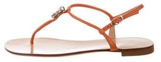 Giuseppe Zanotti Leather Thong Sandals