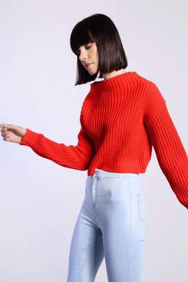 Glamorous **Cropped Knitted Jumper