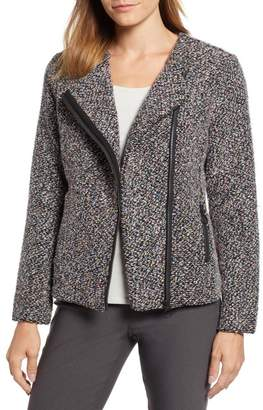 Nic+Zoe Confetti Cotton Blend Boucl? Jacket (Regular & Petite)