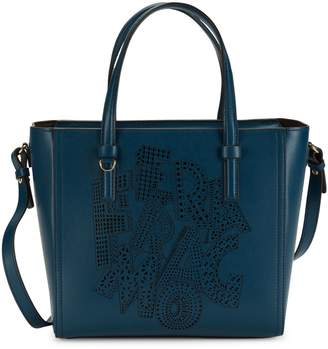 Salvatore Ferragamo Bonnie Convertible Leather Tote