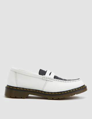 Dr. Martens x Stussy Penton Loafer in Black/White