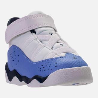 Nike Kids' Toddler Jordan 6 Rings Basketball Shoes