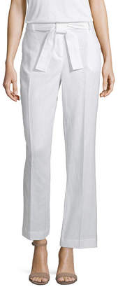 Liz Claiborne Belted Wide Leg Pant - Tall