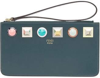 Fendi Rainbow zipped pouch