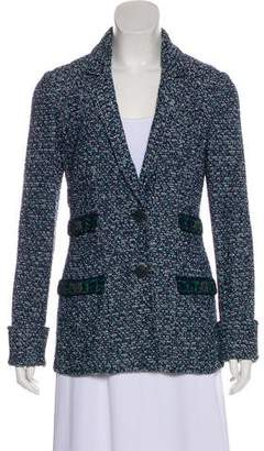 St. John Wool-Blend Tweed Jacket