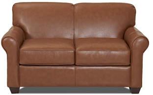 Wayfair Custom Upholstery Jennifer Leather Loveseat
