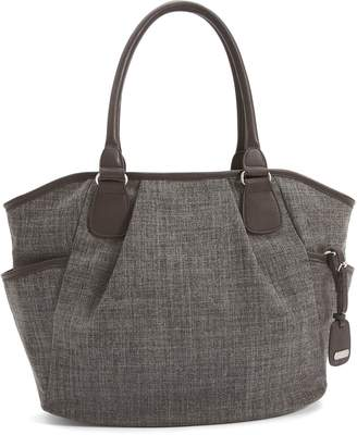 Mamas and Papas Parker Tote Bag - Chestnut Tweed by