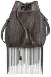 Brunello Cucinelli Monili Fringe Bucket Bag