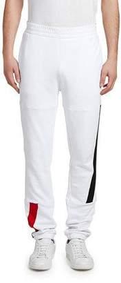 Moncler Men's Flag Cotton Sweatpants