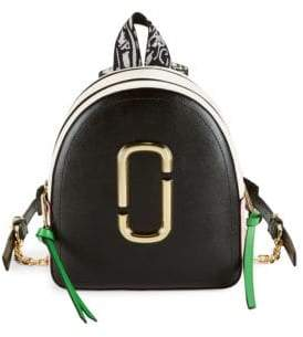 Marc Jacobs Coated Leather Backpack