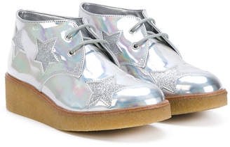 Stella McCartney metallic effect boots