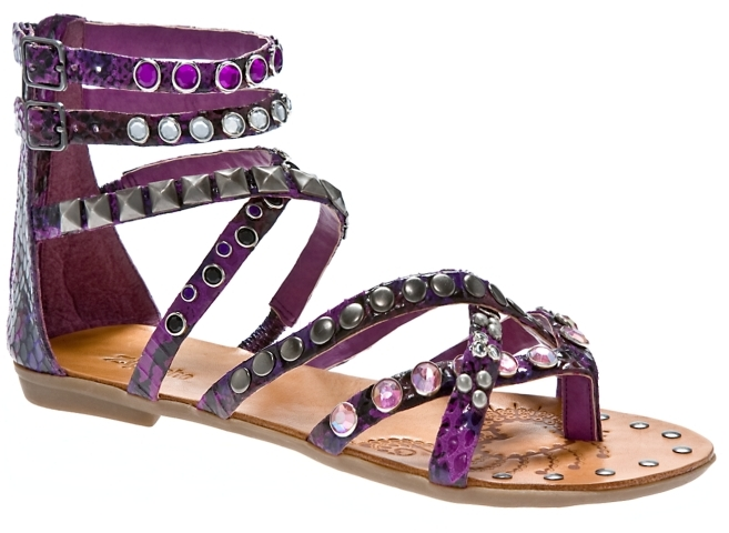 Zigi Soho Parker Jeweled Gladiator Sandal