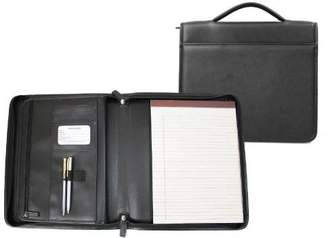 Royce Leather EMPORIUM LEATHER GOODS 741-6 Executive Brief Padfolio Black