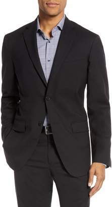 Nordstrom Tech-Smart Trim Fit Stretch Wool Travel Sport Coat