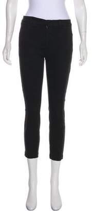 Nili Lotan Mid-Rise Skinny Pants