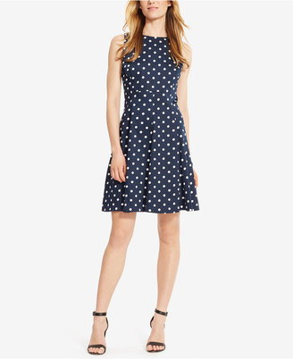 American Living Jersey Fit & Flare Dress $79 thestylecure.com