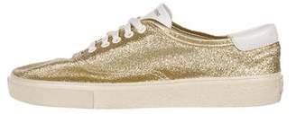 Saint Laurent Glitter Skate Sneakers