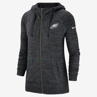 Nike Women's Full-Zip Hoodie Gym Vintage (NFL Eagles)