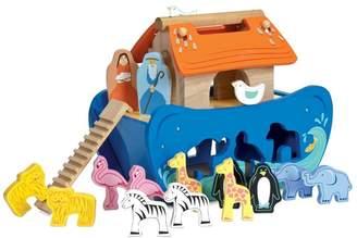 Le Toy Van Boys Wooden Noahs Shape Sorter