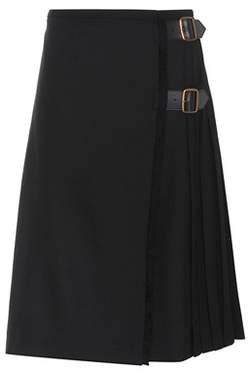 Burberry Wool midi skirt