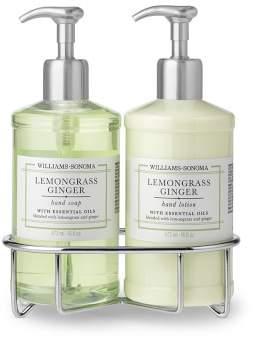 Williams-Sonoma Williams Sonoma Lemongrass Ginger Hand Soap & Lotion, Deluxe 5-Piece Set