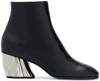 Proenza Schouler contrast heel ankle boots